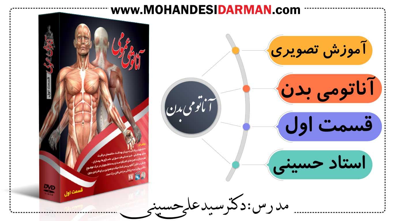 آموزش آناتومی بدن انسان (استاد حسینی)
