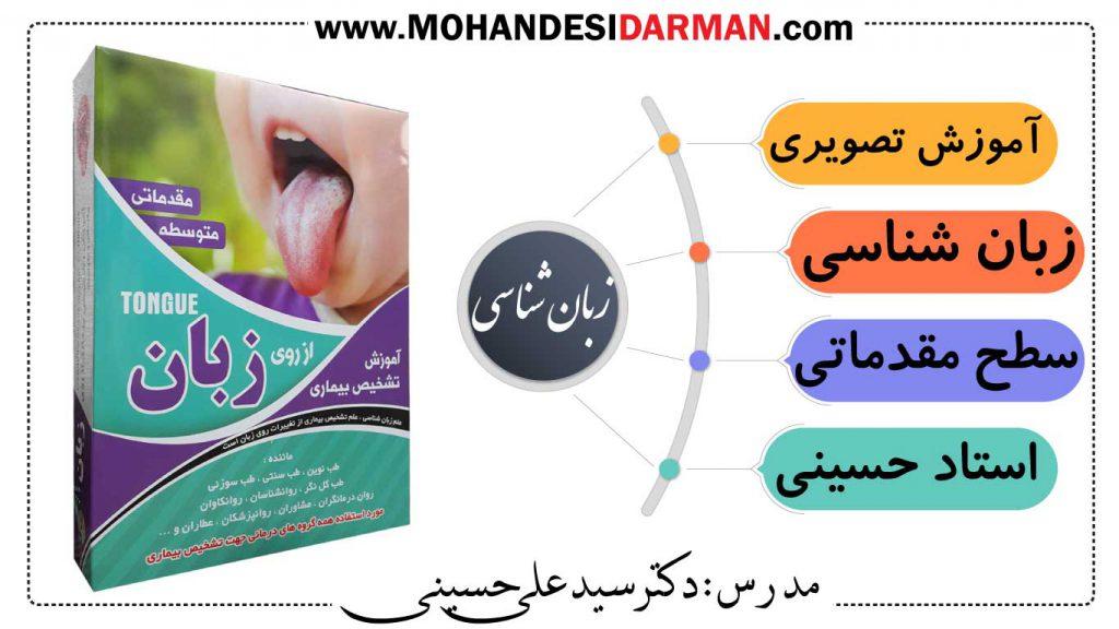 آموزش تشخیص بیماری از روی زبان پارت 1-مدرس استاد علی حسینی